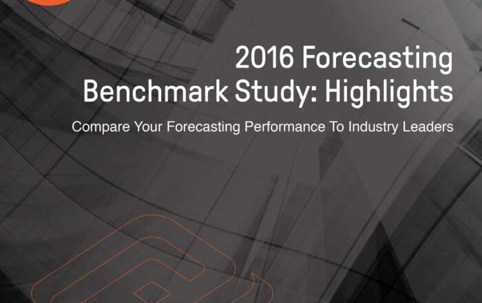 White paper - 2016 Forecasting Benchmark Study: Highlights