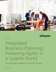 Integrated Business Planning: Powering Agility in a Volatile World