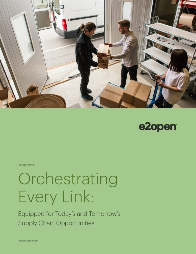 White Paper - Orchestrating Every Link: Equipped for Today's and Tomorrow's Supply Chain Opportunities
