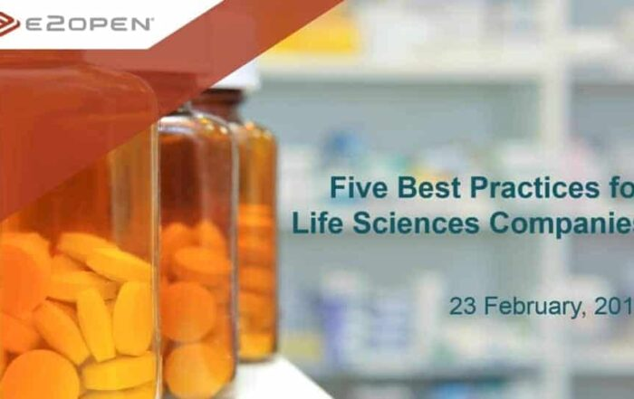 Five Supply Chain Best Practices for Life Sciences Companies
