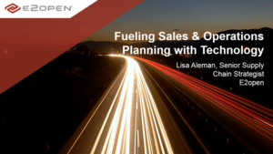 Fueling Sales & Operations Planning with Technology