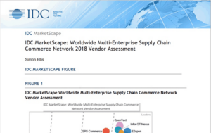 IDC MarketScape: Worldwide Multi-Enterprise Supply Chain Commerce Network 2018 Vendor Assessment
