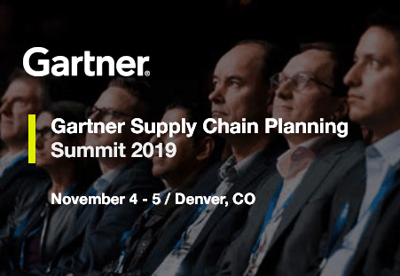 Gartner Supply Chain Planning Summit 2019