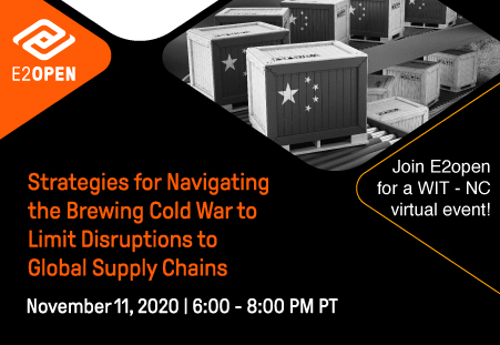 WIT-NC: Strategies for Navigating the Brewing Cold War to Limit Disruptions to Global Supply Chains [Virtual Event]