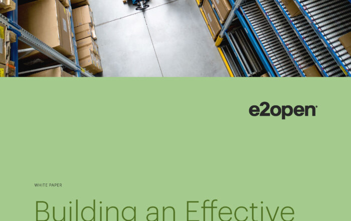 Building an Effective Vendor-Managed Inventory Program