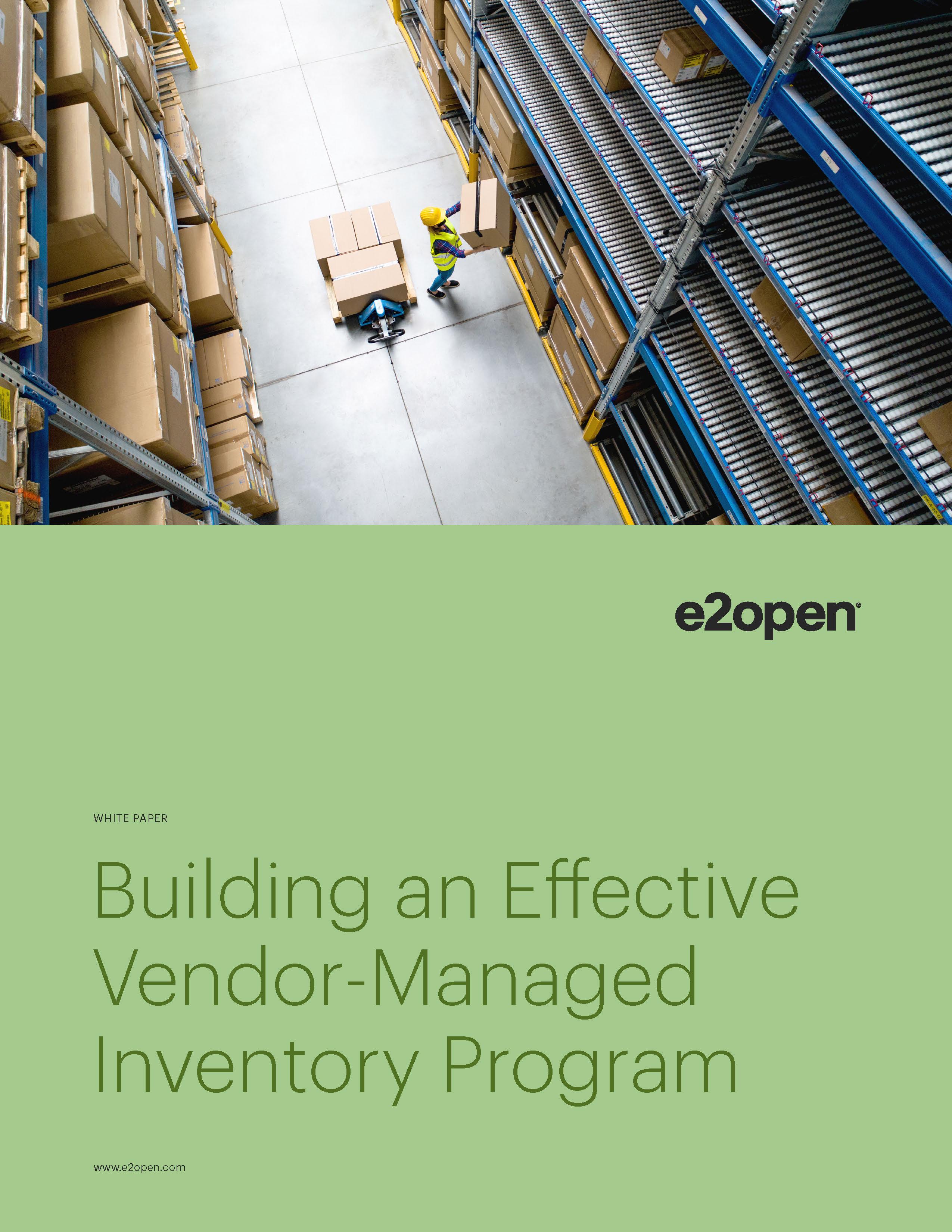 Building an Effective Vendor-Managed Inventory Program