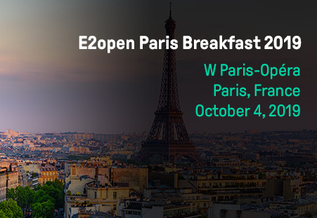 E2open Paris Breakfast 2019