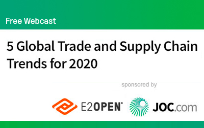 5 Global Trade and Supply Chain Trends for 2020
