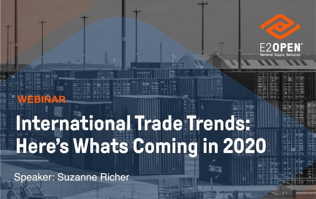International Trade Trends: Here's What's Coming in 2020