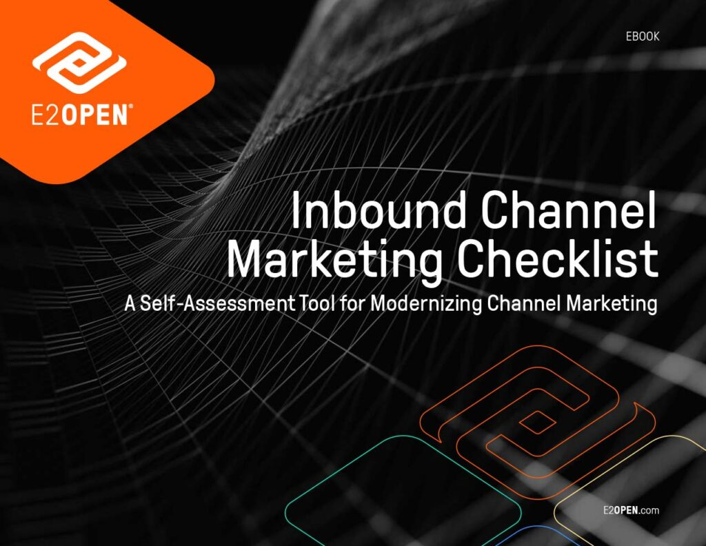 Inbound Channel Marketing Checklist: A Self-Assessment Tool for Modernizing Channel Marketing