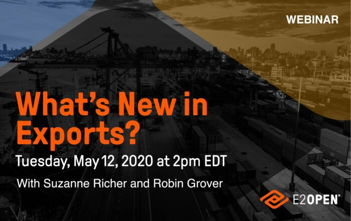 [GTA Webinar] What's New in Exports?