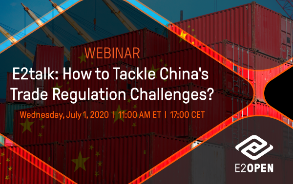 E2talk: How to Tackle China's Trade Regulation Challenges?