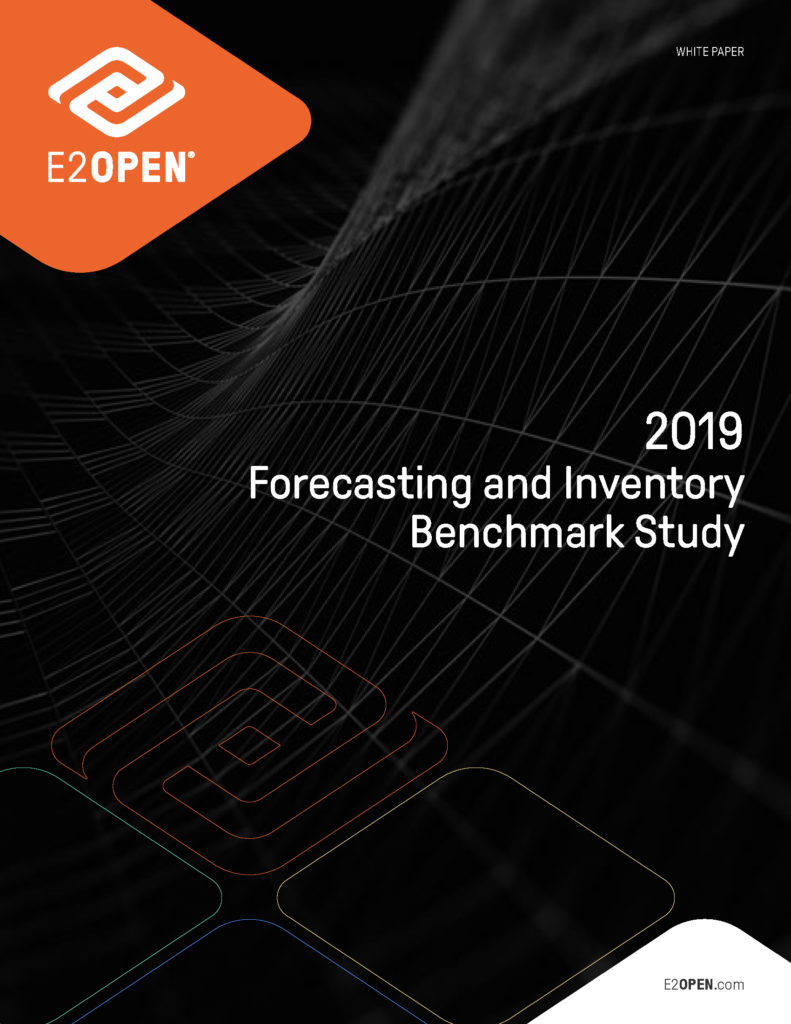 The 2019 E2open Forecasting and Inventory Benchmark Study