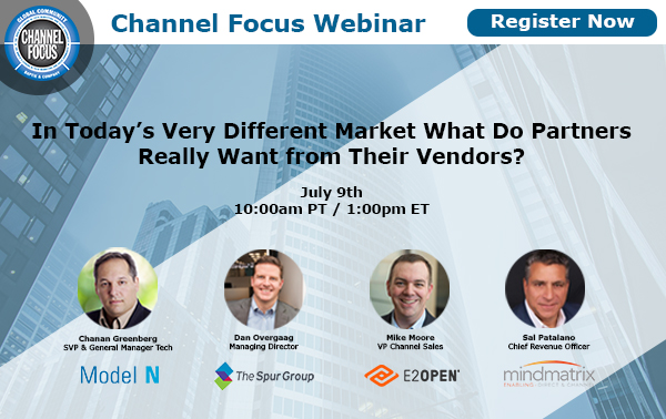 [Baptie Webinar] In Today's Very Different Market What Do Partners Really Want from Their Vendors?