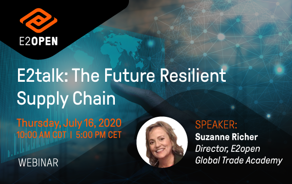 E2talk: The Future Resilient Supply Chain