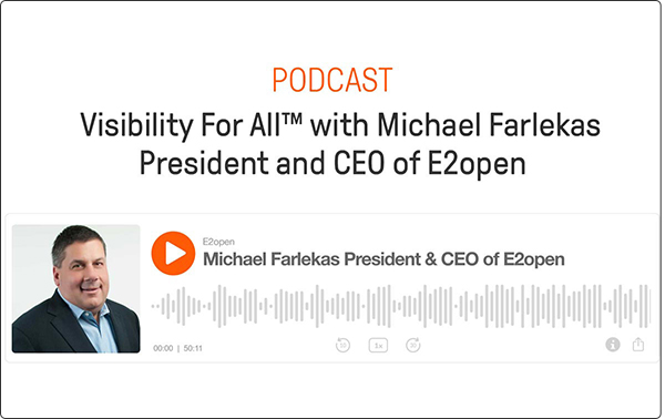 Visibility For All with Michael Farlekas, President and CEO of E2open