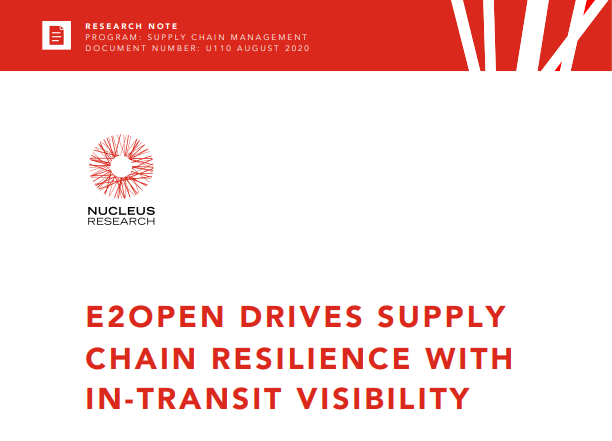 Nucleus Featured Image E2open Drives Supply Chain Resilience with In-Transit Visibility