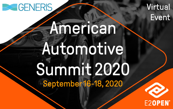 Generis American Automotive Summit 2020