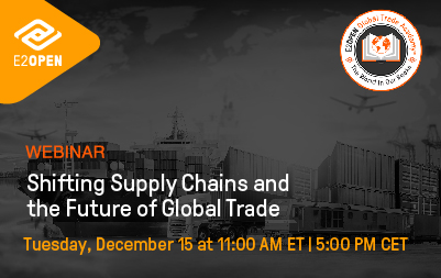 [GTA Webinar] Shifting Supply Chains and the Future of Global Trade