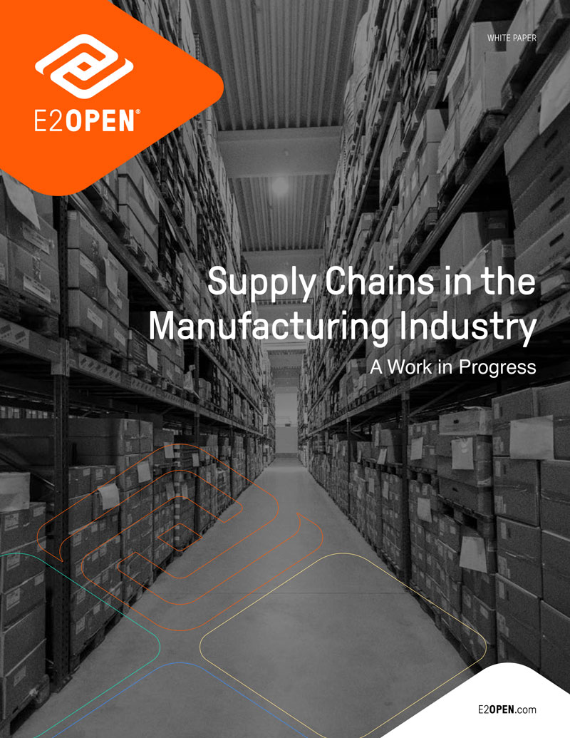 Supply Chains in the Manufacturing Industry