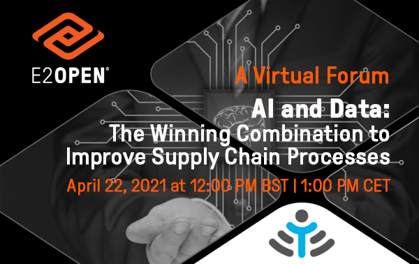 A Virtual Forum with Industry IoT: AI and Data: The Winning Combination to Improve Supply Chain Processes