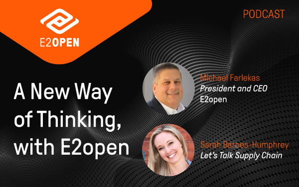 A New Way of Thinking, with E2open