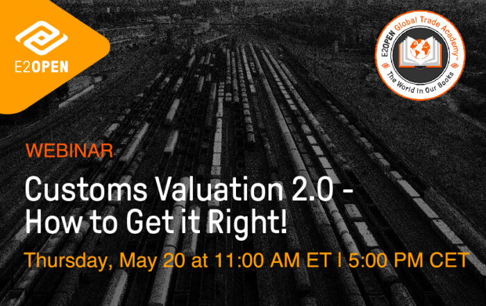 Customs Valuation 2.0 – How to Get it Right!