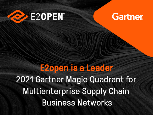 2021 GARTNER REPORT Magic Quadrant for Multienterprise Supply Chain Business Networks