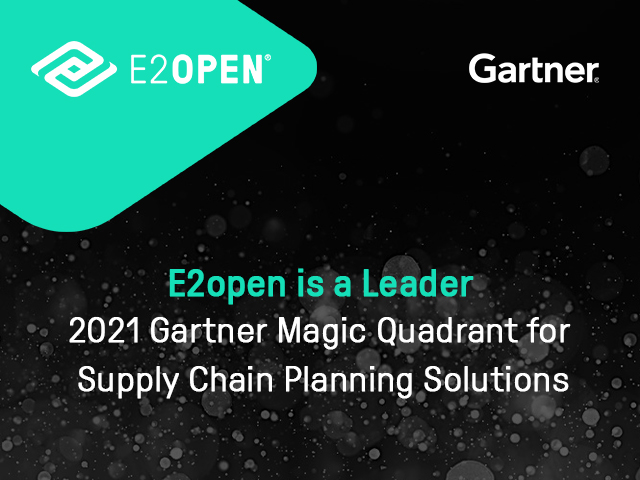 2021 GARTNER REPORT Gartner Magic Quadrant for Supply Chain Planning Solutions