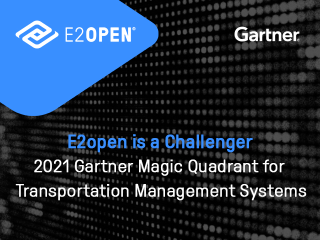 2021 GARTNER REPORT Magic Quadrant for Transportation Management Systems (TMS)