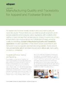 Manufacturing Quality and Traceability for Private Label Brands and Retailers