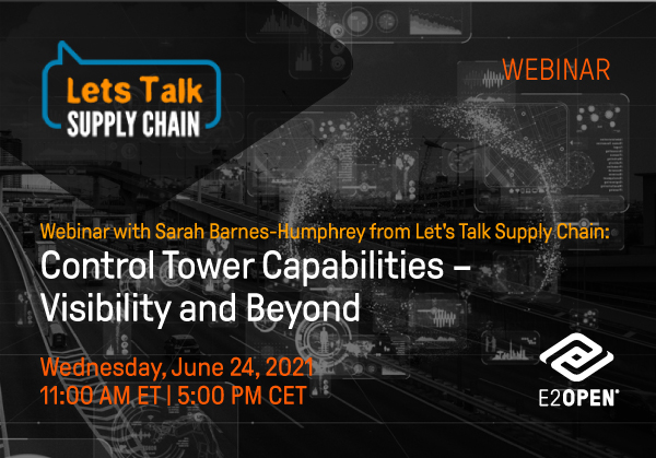 Webinar with Sarah Barnes-Humphrey from Let's Talk Supply Chain