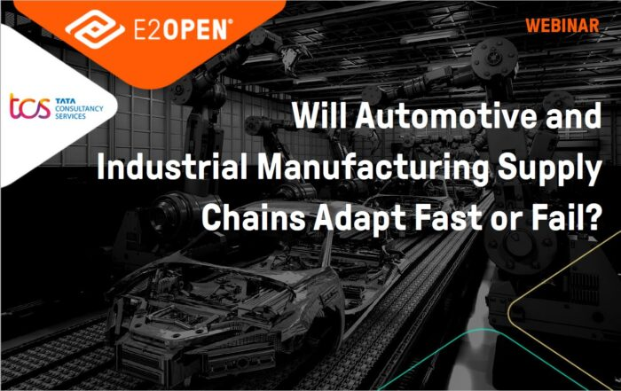 Will Automotive and Industrial manufacturing Supply Chains Adapt fast or Fail?