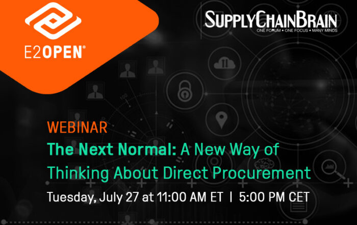 The Next Normal: A New Way of Thinking About Direct Procurement