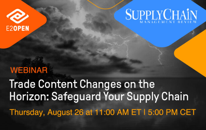 Trade Content Changes on the Horizon - Safeguard Your Supply Chain