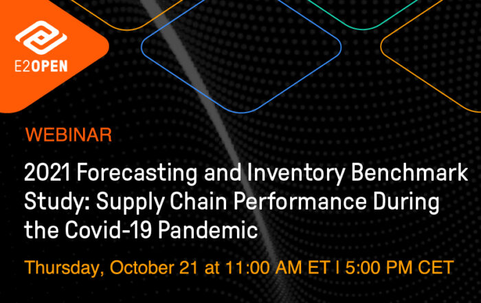 2021 Forecasting and Inventory Benchmark Study: Supply Chain Performance During the Covid-19 Pandemic