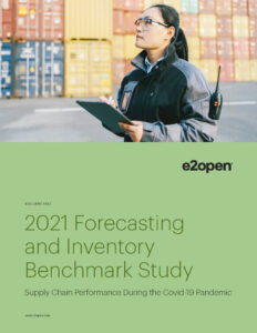 The 2021 E2open Forecasting and Inventory Benchmark Study